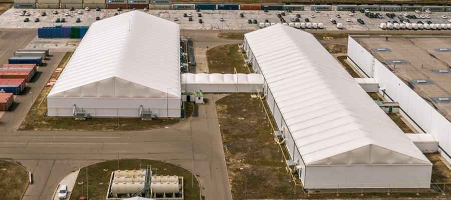 depo çadırı hangi alanlarda kullanılır?